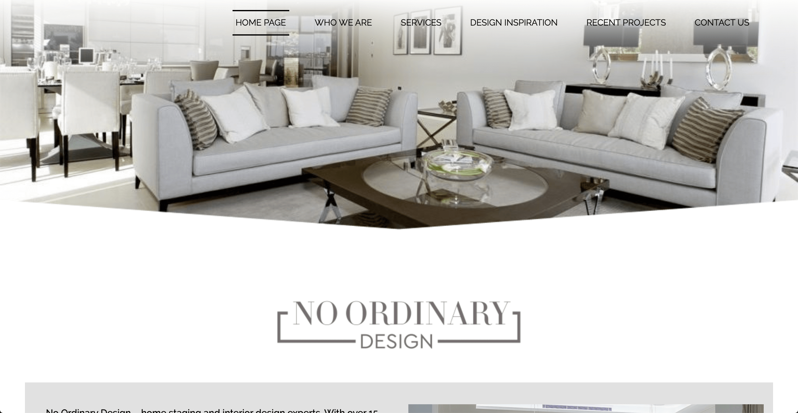 No Ordinary Design