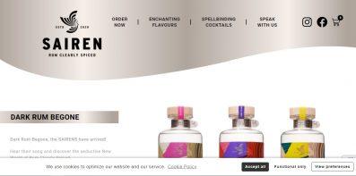 sairen rum website