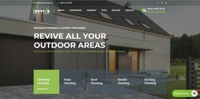 irevive - web design portfolio